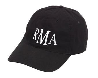 Monogrammed Cap - Monogrammed Baseball Cap - Monogrammed Hat - Baseball Cap