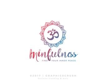 Mandala Logo Design Ohm Logo Design Yoga Logo Design Blog Logo