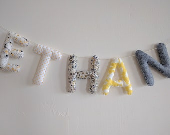 Name/letters baby/child room Decoration banner Garland