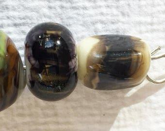 Set of Small Lamp Work Beads