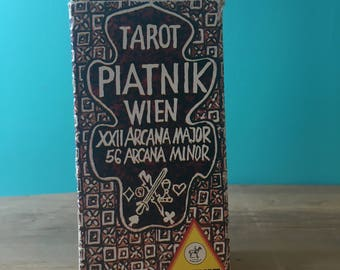 Complete Tarot Card Deck from the 1970s