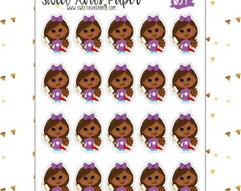 S'mores Stickers   Scout Stickers   Camping Stickers   Cailynn   Chocolate Stickers   Character Stickers   Darker Skin Tone   634