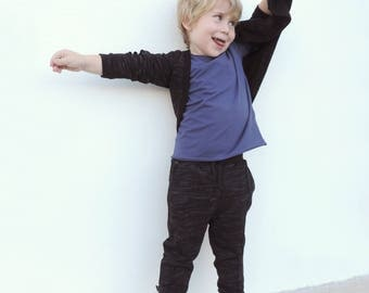 Boys Jogger Pants | Kids Jogger Pants | Toddler Baby Jogger Pants | Black Jogger | Cool Boy Clothes | Size 18M to 9-10Y - by PetitWild