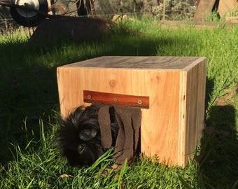 Guinea Pig House | Guinea Pig | Small Pet House | Handmade Hideout | Hardwood Cavy Hidey Hut