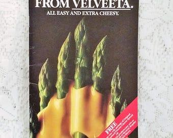 Velveeta Recipe Booklet, Vintage Cookbook, Advertising Brochure, Cheese Recipes
