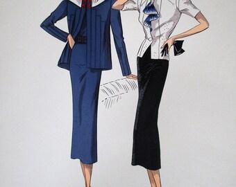Fashion print Creation Paris model Martial & Armand Goupy - 13231