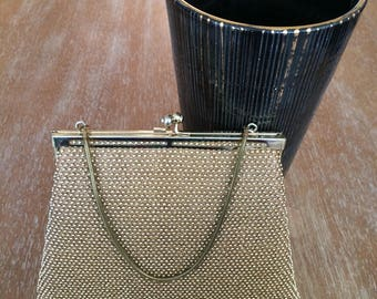 Lumured Petite Bead Gold Handbag