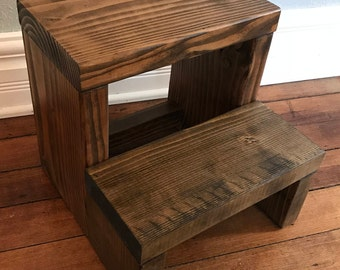 Step Stool Etsy