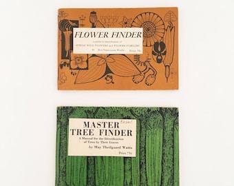 Flower Finder (1955) and Tree Finder (1963)