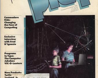 Commodore Power Play Magazine Oct Nov 1984 Good Reader Copy