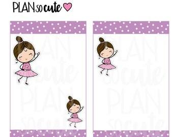 Ballet Dancer Planner Stickers -201