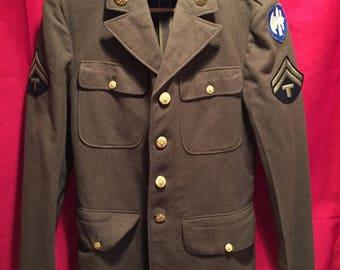 WW2 U.S Army 65th Division Service Tunic