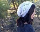 Slouchy Beanie Crochet PA...