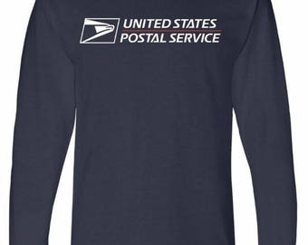 USPS Long Sleeve brand new Navy Blue BUY 2 get 1 FREE promotion! All sizes available