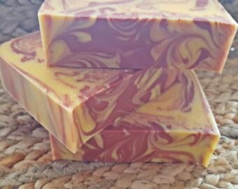 Almond & Apricot Soap   Handmade Soap   Goat's Milk Soap