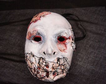 Wire Mask | Dark | Gory Costume