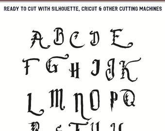 Harry Potter Svg,Harry Potter font svg,Harry Potter font svg files for Cricut,Harry Potter svg for Silhouette,Harry Potter  cut file,fonts