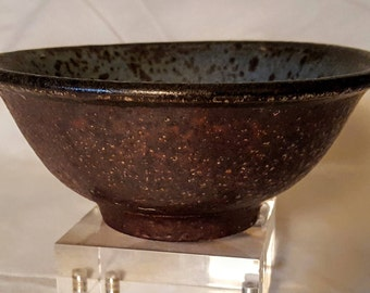 Japanese Earthen Ware Pottery- Bizen Ceramic Bowl