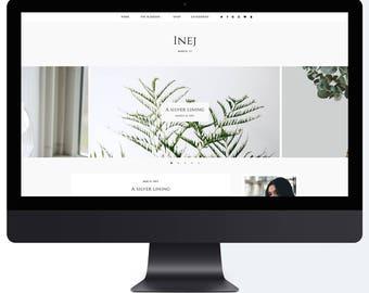 Inej | Responsive Blogger Template + Free Installation