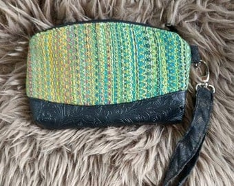 Handwoven handmade clutch wallet