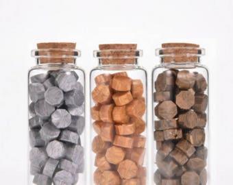 Metallic Wax Beads, Sealing Wax, Stamp Seal Wax, Bottled Wax - PJ062