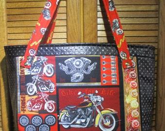 Born To Ride Handbag