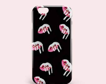iPhone 7 Case Kylie Logo Black Color iPhone 7 Plus Case iPhone 6 6s 6 Plus 6s Plus iPhone 8 SE Case Samsung Galaxy S6 S7 S8 case iphone x