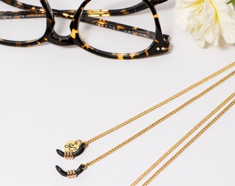 Sunglass Chain, Cord, Holder | Jewelry | Eyewear Glasses Accessories | Gold Plated | Handmade by SUNNY CORDS