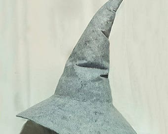 Wizard, Witch or Mage Hat, Felt, Multiple Sizes with Customization Available - Ideal for Cosplay (Gandalf, Harry Potter, Sorcerer, Wizard)