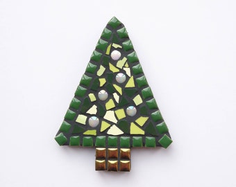 Mosaic Christmas tree, Mosaic tree, Christmas tree, Christmas mosaic, Christmas decoration, Christmas present