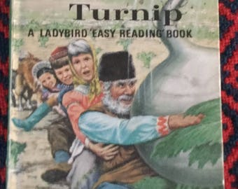 Vintage Ladybird Book-The Enormous Turnip