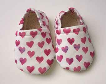 Heart baby moccasins