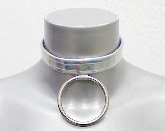 Hologram O-Ring Choker