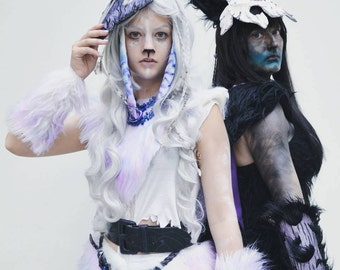 Kindred Lamb Complete with bow Cosplay League of Legends Costume