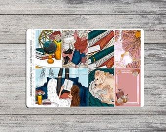 Sit Back, Relax - MAMBI Happy Planner - 6 Sheet Planner Kit