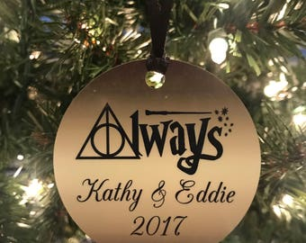 Harry potter christmas ornament  Etsy UK