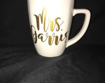Personalized Mug, Custom Coffee Mug, Custom Name