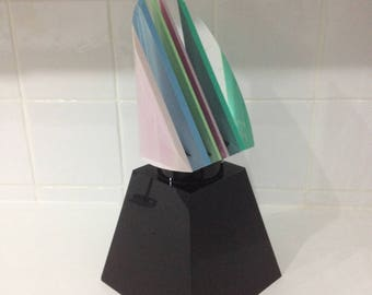 Jean claude farhi plexiglass sculpture circa 65