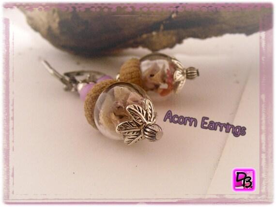 Boucles d'oreilles [Acorn Earrings]