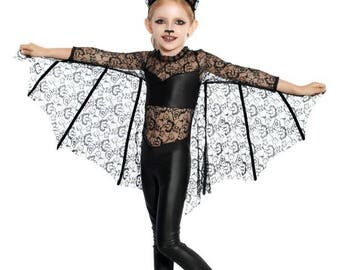 girls bat costume handmade childrens costume photo prop outfit kids halloween costume carnival theme outfit mystical - Mystical Halloween Costumes