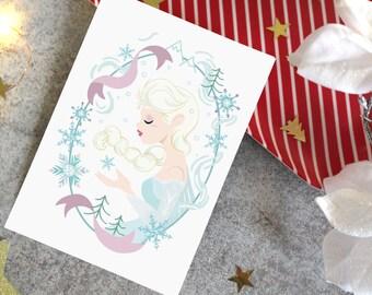 Carte Postale - Elsa