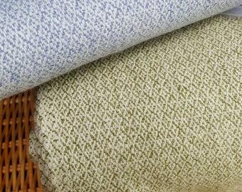 Diamond twill wool fabric