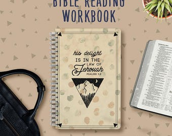 Daily bible Reading Notebook | JW Gifts | Pioneer Journal | Jehovah's Witnesses | JW | Pioneer Workbook | Jw Notebook