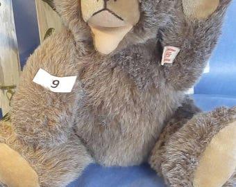 Vintage Hermann Zotty bear, plush, 30 cm tall, with tag