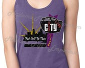 Prince Erotic City Come Alive Tank Top T-shirt Funk Until The Dawn Minneapolis Skyline Let's Go Crazy Purple Rain The Revolution Symbol
