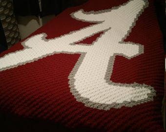 Alabama Corner to Corner Blanket