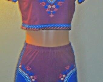 Purple Culture 2 piece set