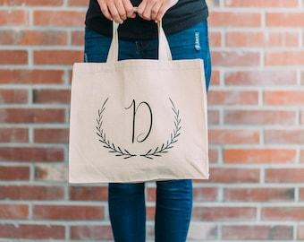 Custom Tote, Personalized Tote, Bridesmaid Tote Bag, Bridal Party Totes, Bridesmaid Tote Bag, Initial Tote, Bridal Tote, Bridesmaid Bag