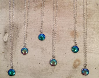 Mermaid scale beachy necklace