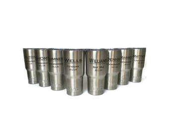 Personalized RTIC, Engraved Stainless Steel Tumbler, 20 oz